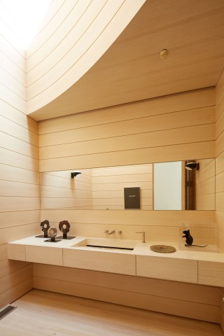 Modern Bathroom by Rose Tarlow and Langdon Wilson in Brentwood, CA