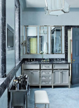 Traditional Bathroom by Steven Gambrel in New York, NY