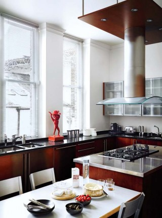 Modern Kitchen by François Catroux and Maha Kutay in London, UK