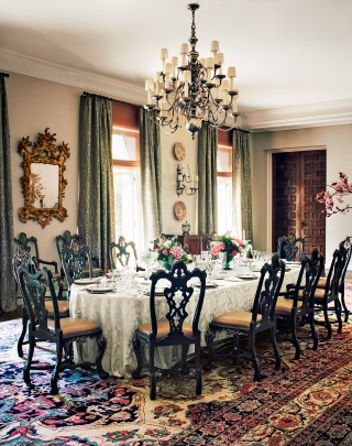Dining Room by Michael S. Smith in Madrid, Spain