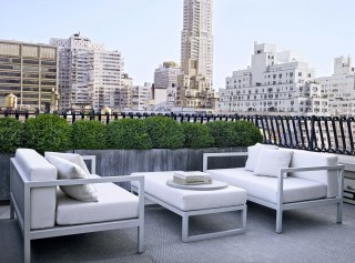 Modern Outdoor Space and Shelton, Mindel & Associates in New York, NY