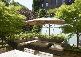 Outdoor Space by Alexandra Angle in New York, NY