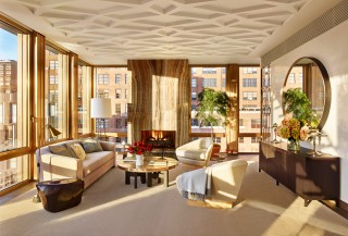 Living Room by Dufner Heighes in New York, NY