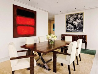 Modern Dining Room by Atelier AM and Marvin Herman & Associates in Chicago, IL