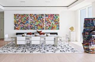 Contemporary Dining Room in Hollywood, FL