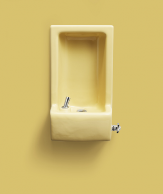 Feel the love of our Sunrise yellow Glenbrook™ water fountain from 1969. Sunrise has set, but the Glenbrook commercial drinking fountain is still available today. Water filtration systems are also available.    Glenbrook Drinking Fountain   Shop Water Filtration