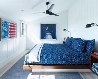 Modern Bedroom by Ashe + Leandro and Ashe + Leandro in Martha\'s Vineyard, MA