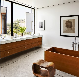 Bathroom by Dan Fink and Tim Murphy in Los Angeles, CA
