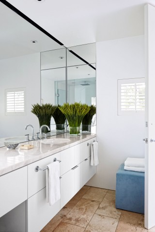 Contemporary Bathroom by Jeff Atlas and Jacobsen Architecture in Napa Valley, CA