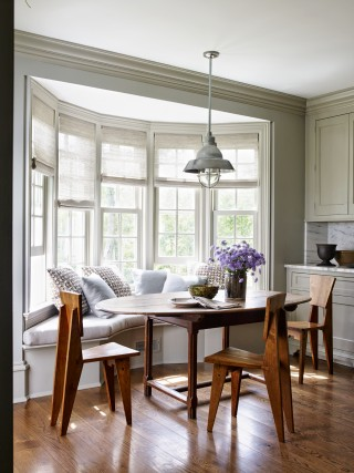 Dining Room by Mark Cunningham in Northwestern Connecticut