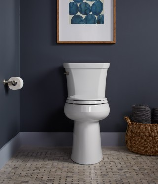 "At 2"" taller than Comfort Height ®  toilets, the Highline ®  Tall provides ultimate ease of use without sacrificing style.    Highline® Tall"