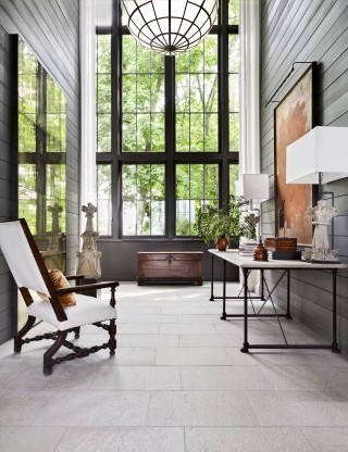Modern Entrance Hall by Ray Booth in Nashville, TN
