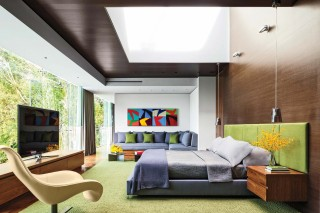 Contemporary Bedroom by Tocha Project and Marc Whipple in Beverly Hills, CA