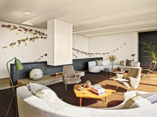 Contemporary Living Room by Christoff:Finio Architecture in The Hamptons, NY