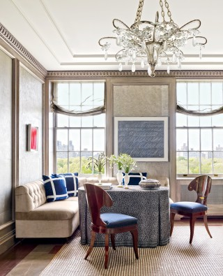 Modern Dining Room by Stephen Sills Associates and John B. Murray Architect in New York, New York
