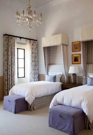 Traditional Bedroom by Joan Behnke & Associates Inc. and Landry Design Group Inc. in Los Angeles, California