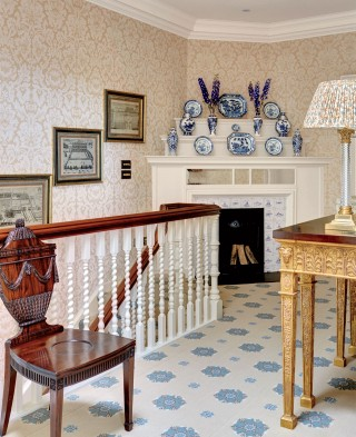 Traditional Staircase/Hallway by Mark Gillette in Burley on the Hill, England