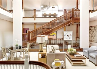 Traditional Staircase/Hallway by Thad Hayes Inc. and Dell Mitchell Architects in Boston, Massachusetts